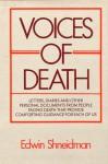 Voices of Death - Edwin S. Shneidman