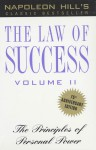 The Law of Success, Volume II: Principles of Personal Power (Audio) - Napoleon Hill, Mario Rosales