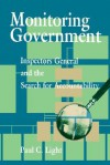 Monitoring Government: Inspectors General and the Search for Accountability - Paul Charles Light
