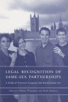 The Legal Recognition Of Same Sex Partnerships: A Study Of National, European And International Law - Mads Andenas