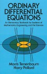 Ordinary Differential Equations - Morris Tenenbaum, Harry Pollard