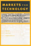 Markets for Technology: The Economics of Innovation and Corporate Strategy - Ashish Arora, Alfonso Gambardella
