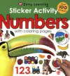 Sticker Activity Numbers (Early Learning) - Roger Priddy