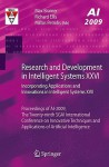 Research And Development In Intelligent Systems Xxvi: Incorporating Applications And Innovations In Intelligent Systems Xvii - Max Bramer, Richard Ellis, Miltos Petridis