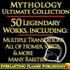 Iliad, Odyssey, Aeneid, Oedipus, Jason and the Argonauts and 50+ Legendary Books: ULTIMATE ROMAN and GREEK MYTHOLOGY COLLECTION - Homer, Ovid, Euripides, Sophocles, Aeschylus, Virgil, Darryl Marks, Alexander Pope, Samuel Butler, Aesop