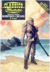 Robinson Crusoe (Classics Illustrated) - Daniel Defoe, Evelyn Goodman, Sam Citron, June Foley