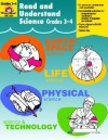 Read and Understand Science, Grades 3-4 - Martha Cheney