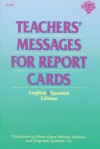 Teachers' Messages for Report Cards, Grades K - 8 - Fearon, Maria Elena Mendez Robbins, Maria Elena M. Robbins, Fearon