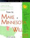 How to Make a Minnesota Will - D. Boulay, Mark Warda