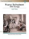 Franz Schubert - 100 Songs: The Vocal Library - Franz Schubert, Richard Walters, Steven Stolen