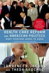 Health Care Reform and American Politics - Lawrence R. Jacobs, Theda Skocpol