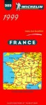 Michelin Main Road Map: France/1999 (Michelin Map, 989) - Michelin Travel Publications