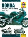Honda VFR750 and 700 V-Fours Service and Repair Manual (Haynes Service & Repair Manuals) - Jeremy Churchill, Mark Coombs, John Haynes