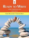 Ready to Write 1: A First Composition Text (3rd Edition) - Karen Blanchard, Christine Root