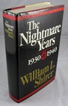 The Nightmare Years 1930-40 (20th Century Journey, #2) - William L. Shirer
