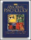 Abnormal Psychology: Integrating Perspectives - Terry Wilson