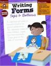 Writing Forms: Tops & Bottoms: Grade K-2 - Jo Ellen Moore, Evan-Moor Educational Publishers, Marilyn Evans