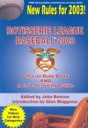 Rotisserie League Baseball: Official Manual And A To Z Scouting Guide (2003) - Glen Waggoner, John Benson