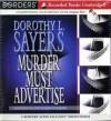 Murder Must Advertise - John Franklyn-Robbins, Dorothy L. Sayers