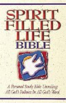 Holy Bible: Spirit-filled Life Bible - Anonymous