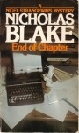 End of Chapter - Nicholas Blake