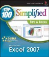 Microsoft Office Excel 2007: Top 100 Simplified Tips & Tricks - Denise Etheridge