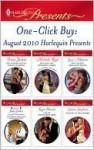 One-Click Buy: August 2010 Harlequin Presents - Penny Jordan, Michelle Reid, Lucy Monroe, Julia James, Carole Mortimer, Kate Hewitt, Susan Stephens