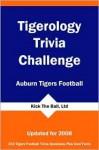 Tigerology Trivia Challenge - Al Netzer