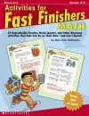 Activities For Fast Finishers: Math - Marc Tyler Nobleman