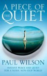 A Piece Of The Quiet: Instant Peace And Quiet For A Noisy, Non Stop World - Paul Wilson