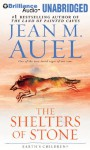 The Shelters of Stone - Jean M. Auel, Sandra Burr