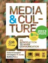 Loose Leaf Version of Media and Culture with 2013 Update - Richard Campbell, Christopher Martin, Bettina G. Fabos