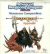 Monstrous Compendium: Dragonlance Appendix (Advanced Dungeons and Dragons) - Rick Swan