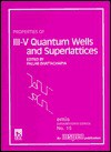 Properties of III-V Quantum Wells and Superlattices - Pallab Bhattacharya
