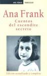Cuentos del escondite secreto - Anne Frank, Ana Maria Fuente, Maria Jose Diez