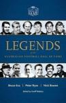 Legends of the Australian Football Hall of Fame - Bruce Eva, Peter Ryan, Nick Bowen, Geoff Slattery