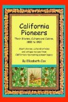 California Pioneers - Elizabeth Cox