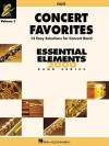 Concert Favorites Vol. 1 - Flute: Essential Elements 2000 Band Series - Hal Leonard Publishing Company