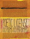 Poetic License 100 Poems - A.A. Milne, David Herbert Lawrence, E.E. Cummings, Edgar Allan Poe, Robert Frost