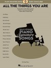 All the Things You Are: Transcriptions and In-Depth Analysis of Solos by 15 Jazz Greats Playing Jerome Kern's Classic Song (Hal Leonard Piano Signature Songs) - Gene Rizzo, Jerome Kern