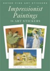 Impressionist Paintings: 16 Art Stickers - Carol Belanger-Grafton