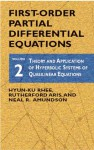 First-Order Partial Differential Equations, Vol. 2 - Hyun-Ku Rhee, Rutherford Aris, Neal Russell Amundson