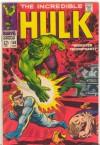 Incredible Hulk, #108, 1968 Yr., VG , $8.00 (Vol. #1) - Marvel Comics Group