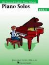 Piano Solos Book 4: Hal Leonard Student Piano Library - Barbara Kreader, Hal Leonard Publishing Corporation