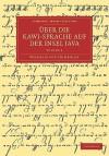 Uber Die Kawi-Sprache Auf Der Insel Java - Volume 3 - Wilhelm von Humboldt