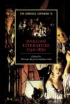 The Cambridge Companion to English Literature, 1740-1830 (Cambridge Companions to Literature) - Thomas Keymer, Jon Mee