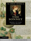 The Cambridge Companion to the Sonnet (Cambridge Companions to Literature) - A. D. Cousins, Peter Howarth