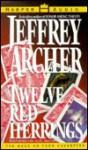 Twelve Red Herrings (4 cassettes) - Jeffrey Archer, Alec McCowen