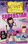Superstar Pocket Activity Fun and Games: Games and Puzzles, Fold-Out Scenes, Patterned Paper, Stickers! - Melissa Fairley