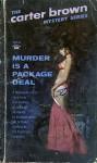 Murder Is a Package Deal - Carter Brown